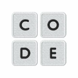 Code.org bordó polo del logotipo