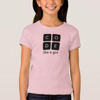 """Code.org """"código tiene gusto la camiseta de un polera"""