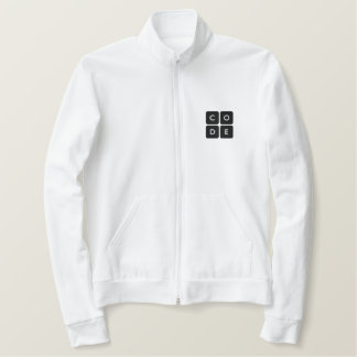 Code.org Embroidered Logo Polo