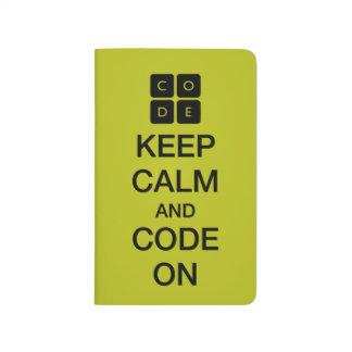 """Code.org """"guarda calma y código en """" cuadernos"""