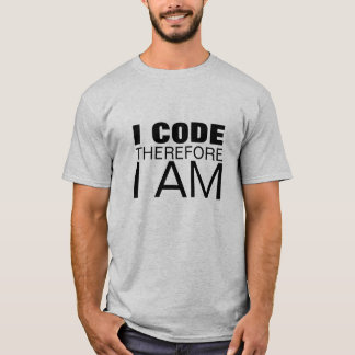 "Code.org ""I Code therefore I Am"" T-Shirt"
