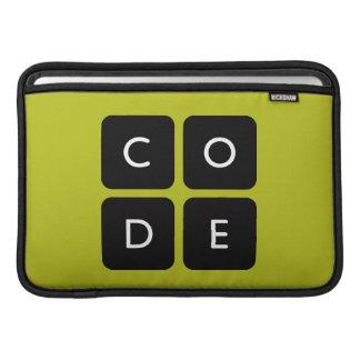 Code.org Logo MacBook Sleeves