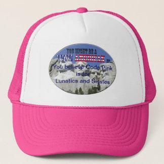 Code Pink Trucker Hat