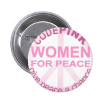CODE Pink Women For Peace Button