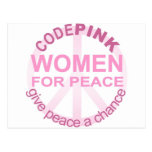 CODE Pink Women For Peace Post Cards