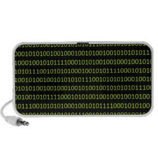 code.png binario portátil altavoz