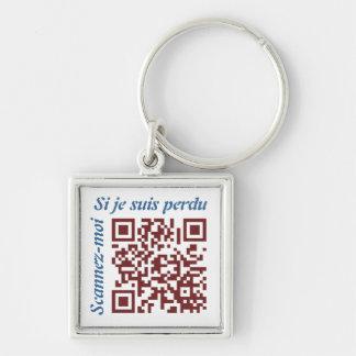 Code QR Keychain