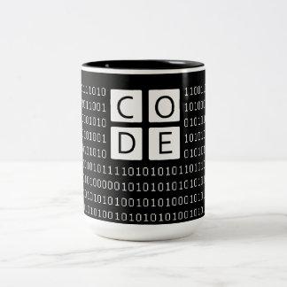 CODE Two-Tone COFFEE MUG