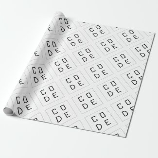 CODE WRAPPING PAPER