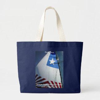 Code Zero Large Tote Bag