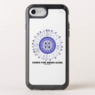 Coded For Amino Acids Codon Wheel Speck iPhone Case