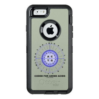 Coded For Amino Acids DNA Genetic Code OtterBox Defender iPhone Case