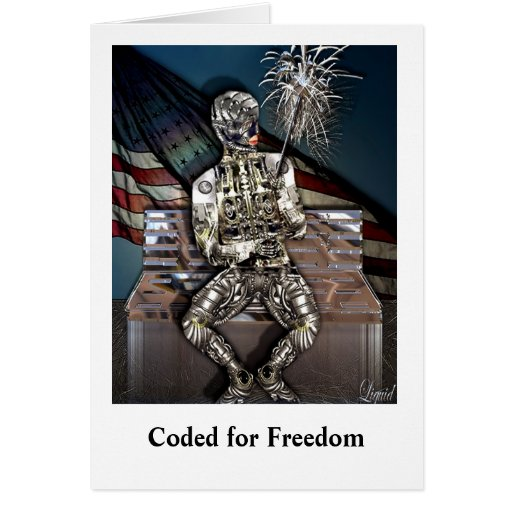 Coded for Freedom Card