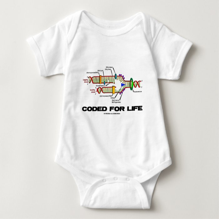 Coded For Life (DNA Replication) Baby Bodysuit