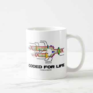 Coded For Life (DNA Replication) Coffee Mug