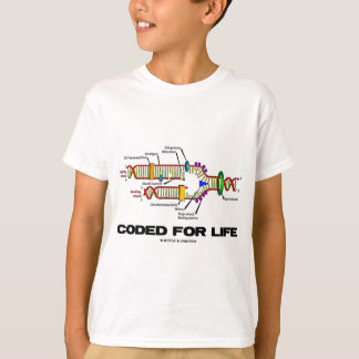 Coded For Life (DNA Replication) T-Shirt