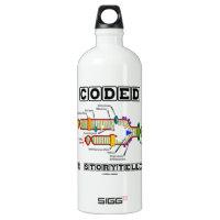Coded For Storytelling (DNA Replication) SIGG Traveler 1.0L Water Bottle