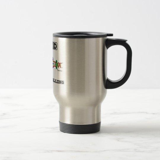 Coded For Storytelling (DNA Replication) Travel Mug