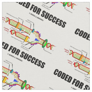 Coded For Success Biology DNA Replication Fabric