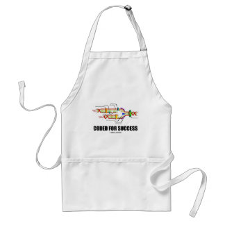 Coded For Success (DNA Replication) Adult Apron