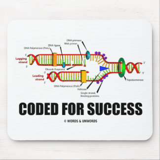 Coded For Success (DNA Replication) Mouse Pad