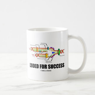Coded For Success (DNA Replication) Classic White Coffee Mug