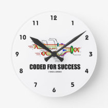 Coded For Success (DNA Replication) Round Clock