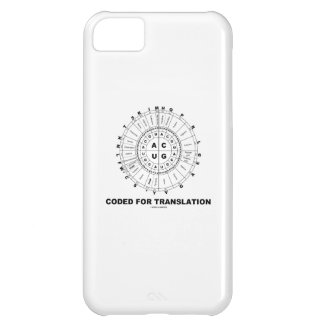 Coded For Translation (RNA Codon Wheel) Case For iPhone 5C
