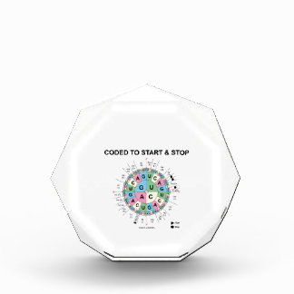 Coded To Start And Stop (Codon Wheel) Award
