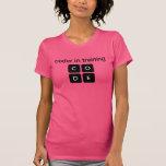 Coder In Training Tshirts