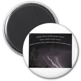 Coder t-shirt 2 inch round magnet