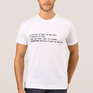 Coderz: 4294967295 bottles of beer! (C++) T-Shirt