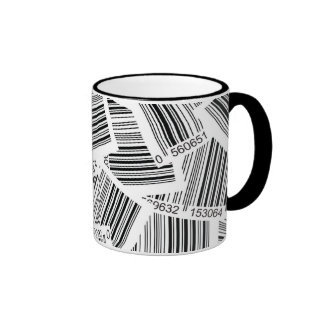 CODES DE BARRAS, BAR CODES RINGER COFFEE MUG