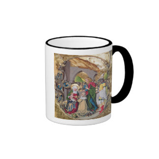 Codex 15.501 The Adoration of the Kings Ringer Coffee Mug