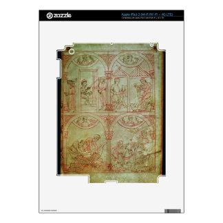 Codex 507 fol.2r Weaver, Shoemaker, Fishermen and Decals For iPad 3