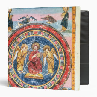 Codex Amiatinus Christ in Majesty 3 Ring Binder