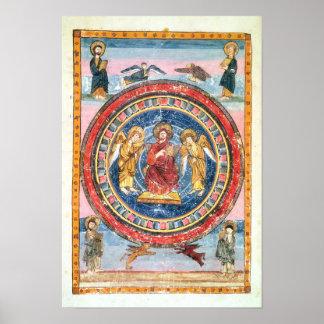 Codex Amiatinus Christ in Majesty Poster