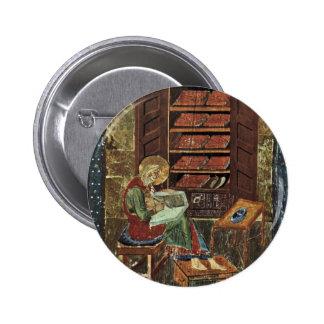 Codex Amiatinus Scene Esdra Working On The Renovat Button