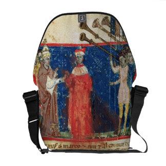 Codex Correr I 383 Doge Sebastiani Ziani receives Courier Bag