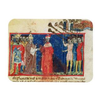 Codex Correr I 383 Doge Sebastiani Ziani receives Magnet