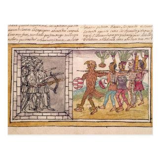 Codex Duran Postcard