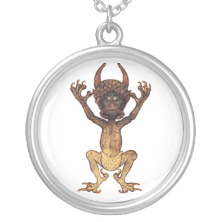Codex Gigas Silver Plated Necklace