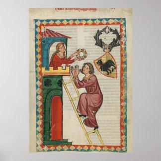 Codex Maness - count Kraft von Toggenburg Poster