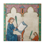 Codex Manesse, 1300s Ceramic Tiles