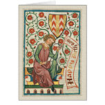 Codex Manesse CC0554 Birthday Card