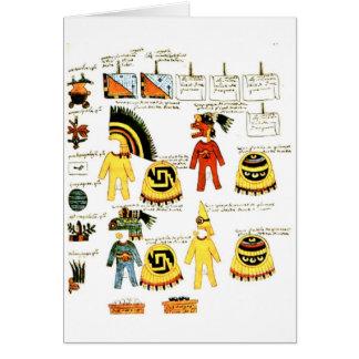 Codex Mendoza Card
