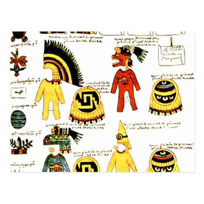 Codex Mendoza Postcard