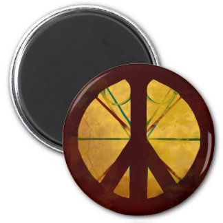 Codex Peace Sign Magnet