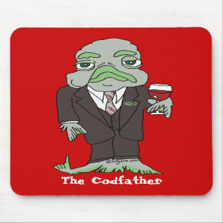 Codfather Cod fish Mousepad