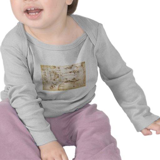 Códice Atlanticus Camiseta